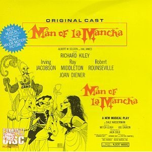 Man of La Mancha CD cover