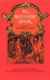 Red fairy book cover